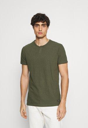 COHEN - T-shirt basic - army