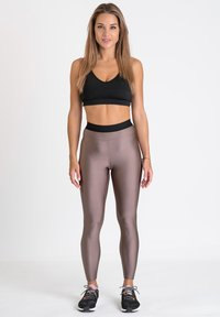 Zoe Leggings - Trikoot - bronze - 1