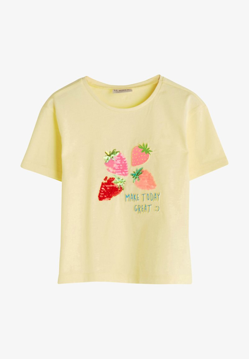 LC Waikiki - Print T-shirt - yellow