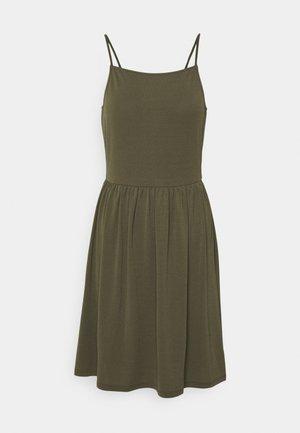 VMILANE SINGLET SHORT DRESS - Jerseykjole - ivy green
