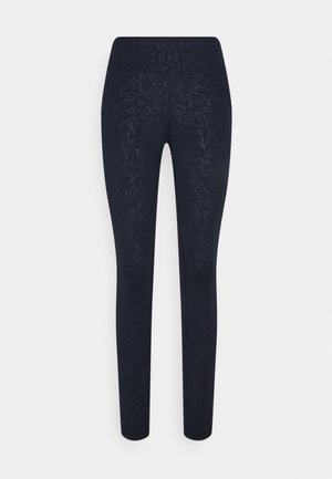 ALL DAY CROP LEGGINGS - Medias - navy blue
