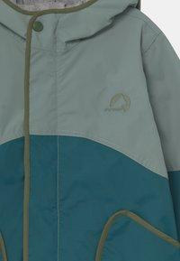Finkid - AARRE UNISEX - Waterproof jacket - trellis/bronze green - 2