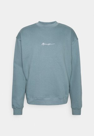 ESSENTIAL SIGNATURE HIGH NECK UNISEX  - Sweatshirt - petrol
