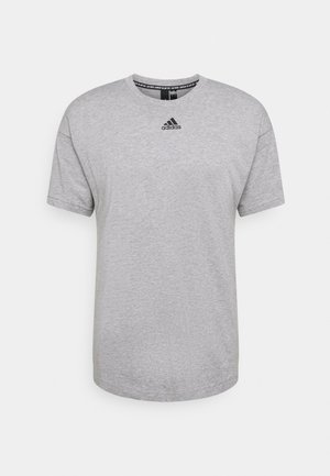 TEE - Print T-shirt - medium grey heather