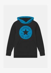 Converse - LINED HOOD - Sweatshirt - black - 0