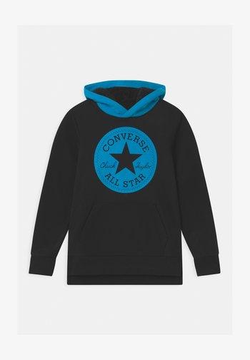 LINED HOOD - Sweatshirt - black
