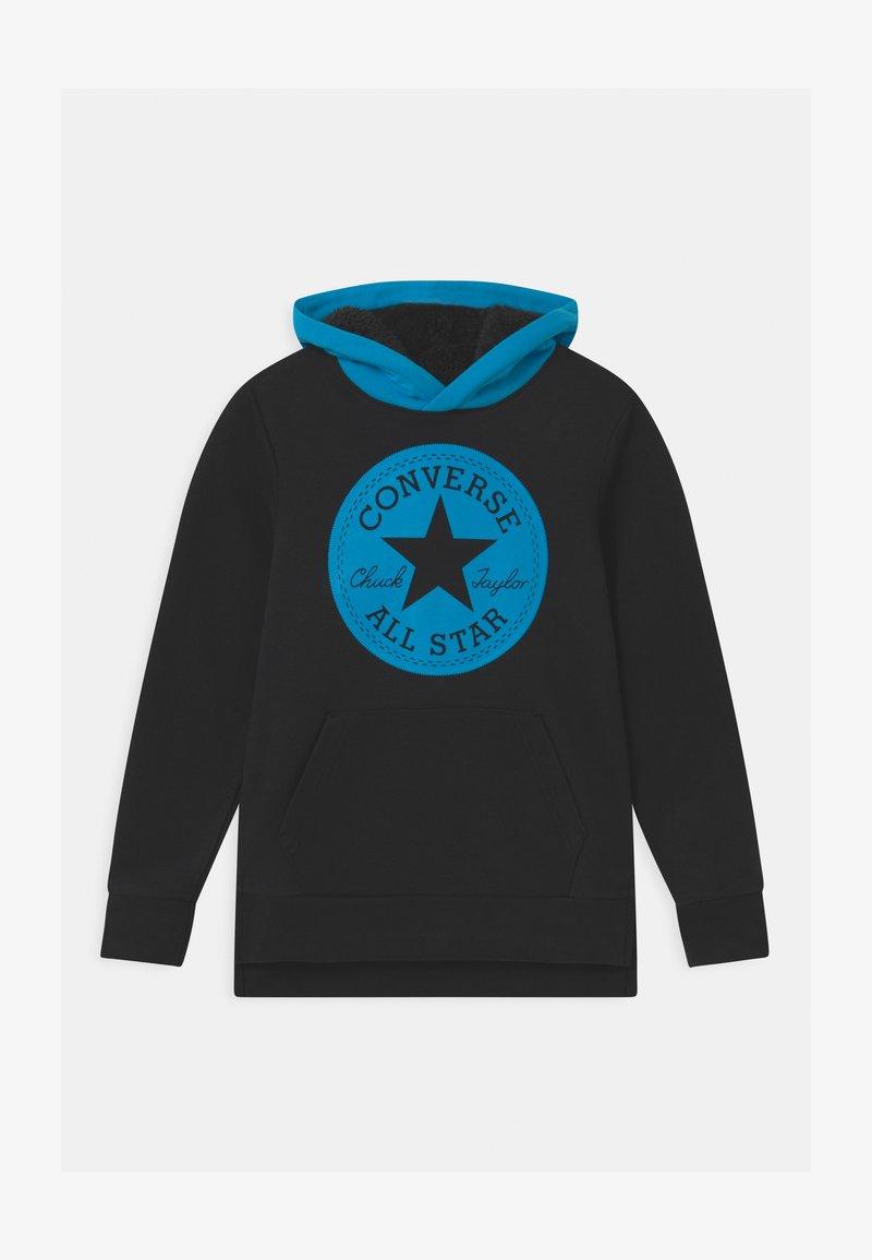 Converse - LINED HOOD - Sweatshirt - black