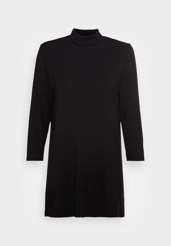 KEYOMI TURTLE - Long sleeved top - black