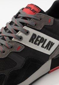 Replay - GARWING - Sneakers basse - black/grey - 5