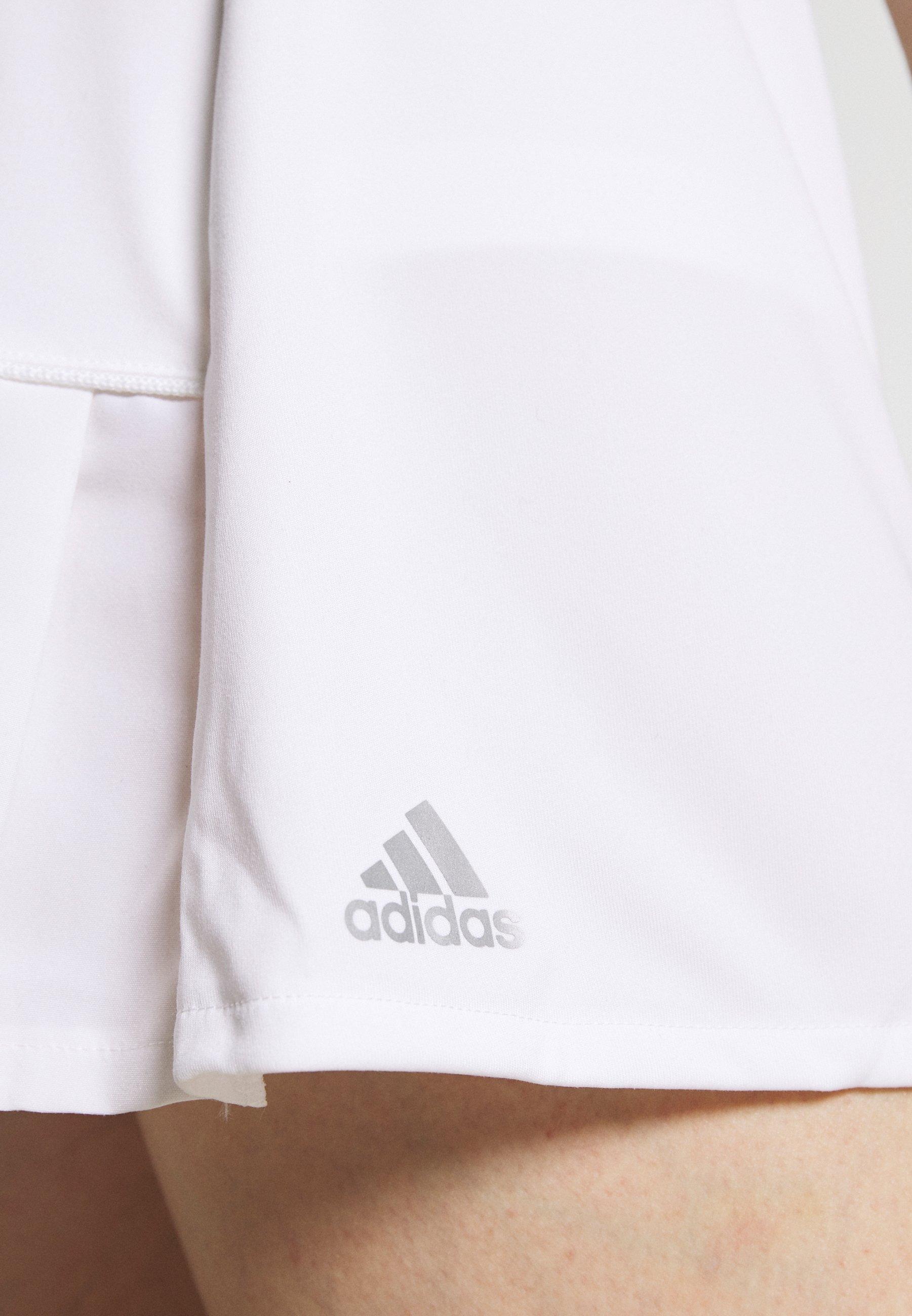 Kopen Best Verkopende Dameskleding sdkjGX55lghisd adidas Performance CLUB LONG SKIRT Rokken white/silver ZGYkFh2