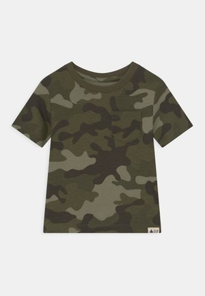TODDLER BOY - Print T-shirt - green