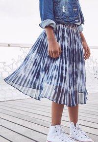Next - Plisovaná sukně - dark blue - 0