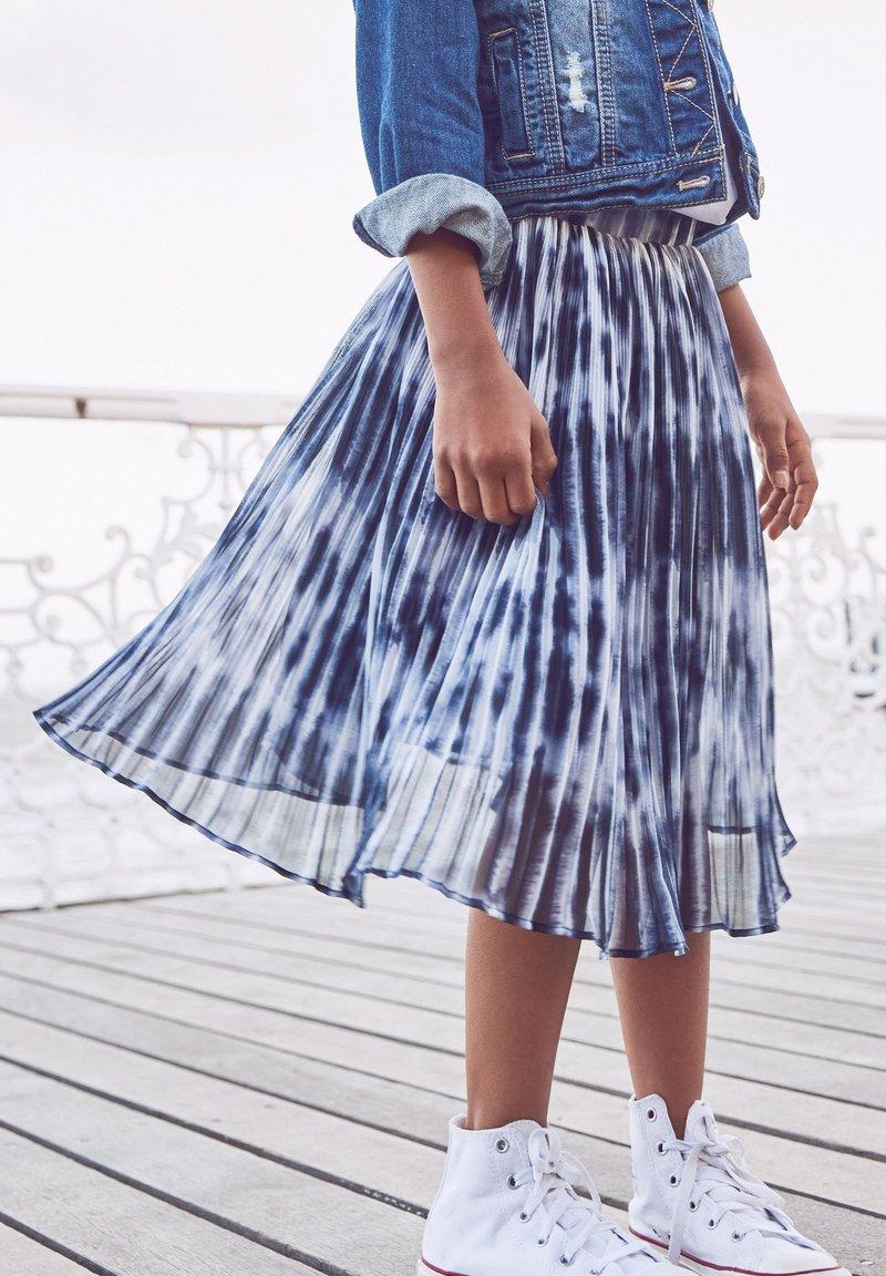 Next - Plisovaná sukně - dark blue