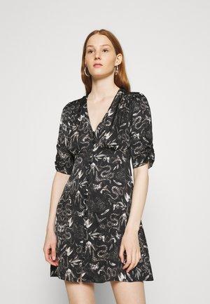 KOTA SOMNIUM DRESS - Shirt dress - black