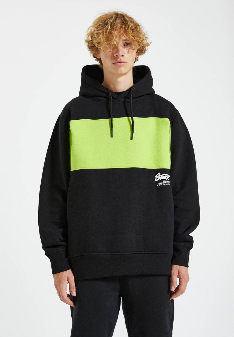 PULL&BEAR - Hoodie - light green
