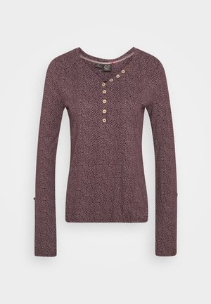 PINCH - Long sleeved top - wine red