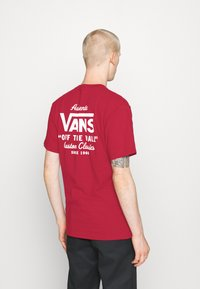 Vans - HOLDER CLASSIC - Print T-shirt - cardinal - 2