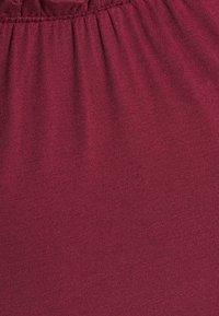 Dorothy Perkins Petite - THREE QUARTER SLEEVE BARDOT 2 PACK - Long sleeved top - black - 11