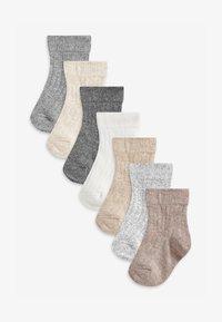 Next - 7 PACK  - Socks - multi-coloured - 0
