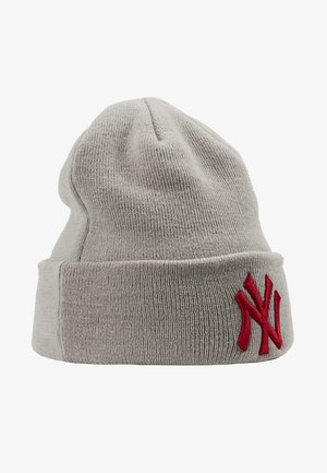 KIDS LEAGUE ESSENTIAL CUFF - Beanie - grey/red