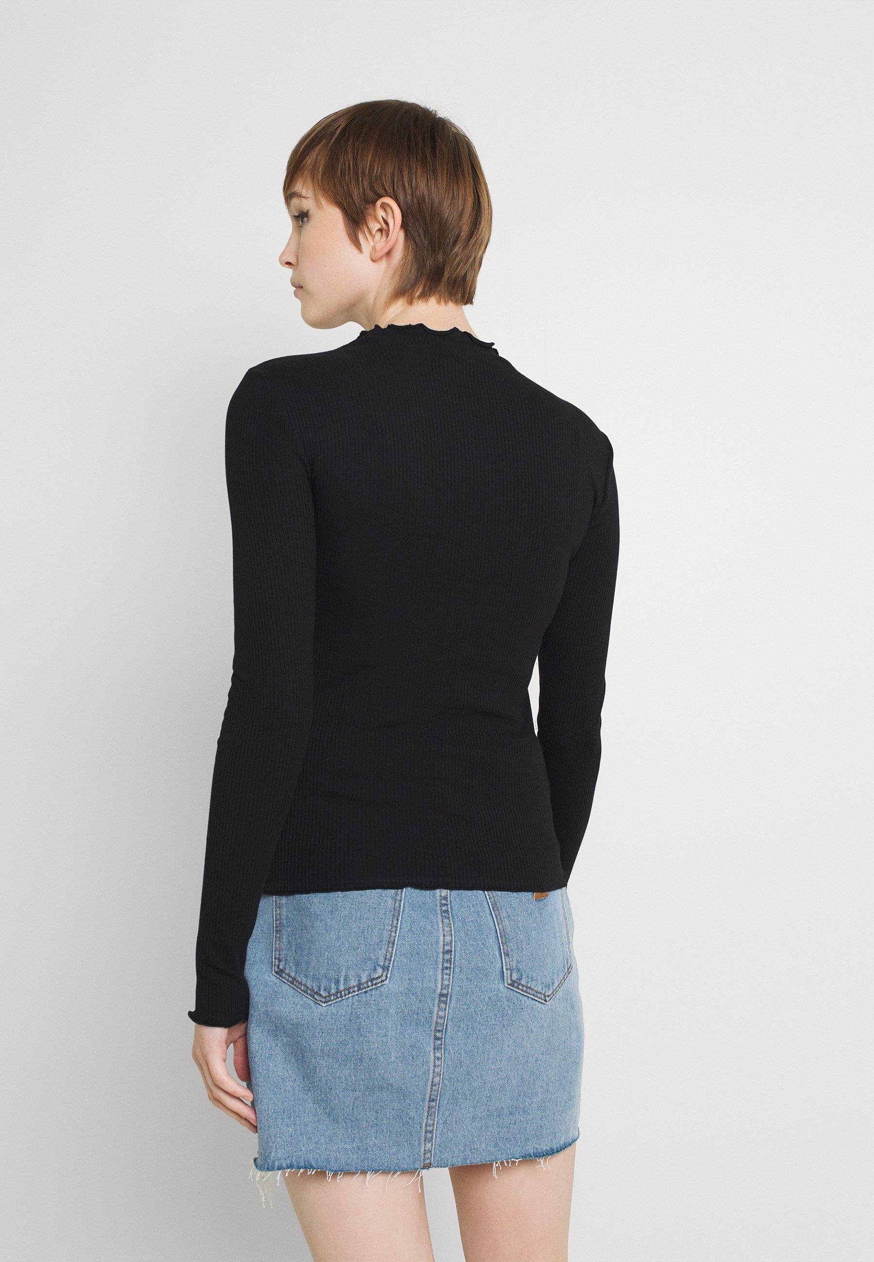 Women VIJULLA HIGH NECK - Long sleeved top