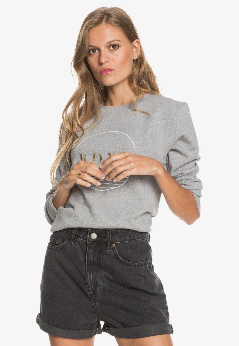 Roxy - Denim shorts - anthracite