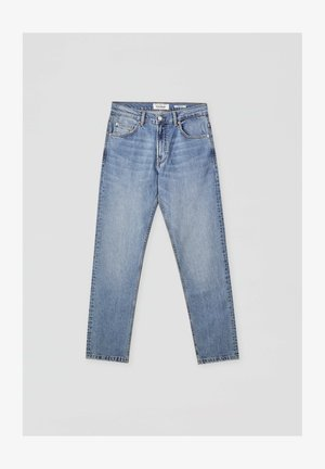 Jeansy Straight Leg - blue-grey