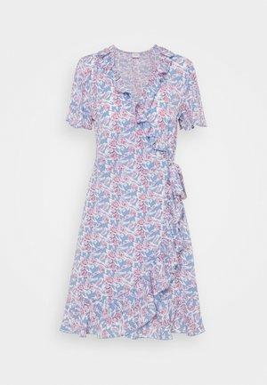JDYMILO FLOWER WRAP DRESS - Vestito estivo - allure/wistful mauve