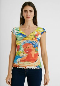 Desigual - T-shirt imprimé - multicolor - 0