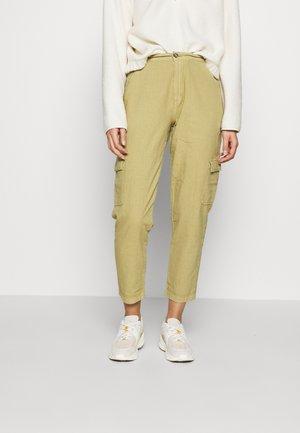 KATE PANTS - Trousers - khaki