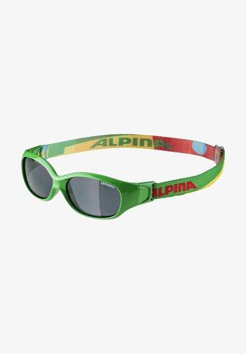 Sunglasses - green-puzzle