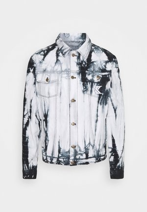 TIE DYE TRUCKER UNISEX  - Denim jacket - white