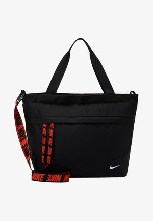 ESSENTIALS - Shopping Bag - black/white