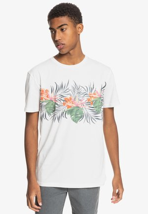 PARADISE EXPRESS TEE - Camiseta estampada - snow white
