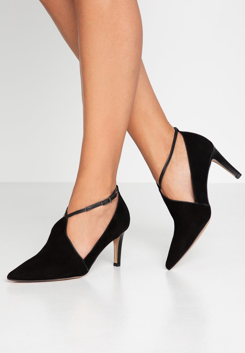 PERLATO - Classic heels - venus noir