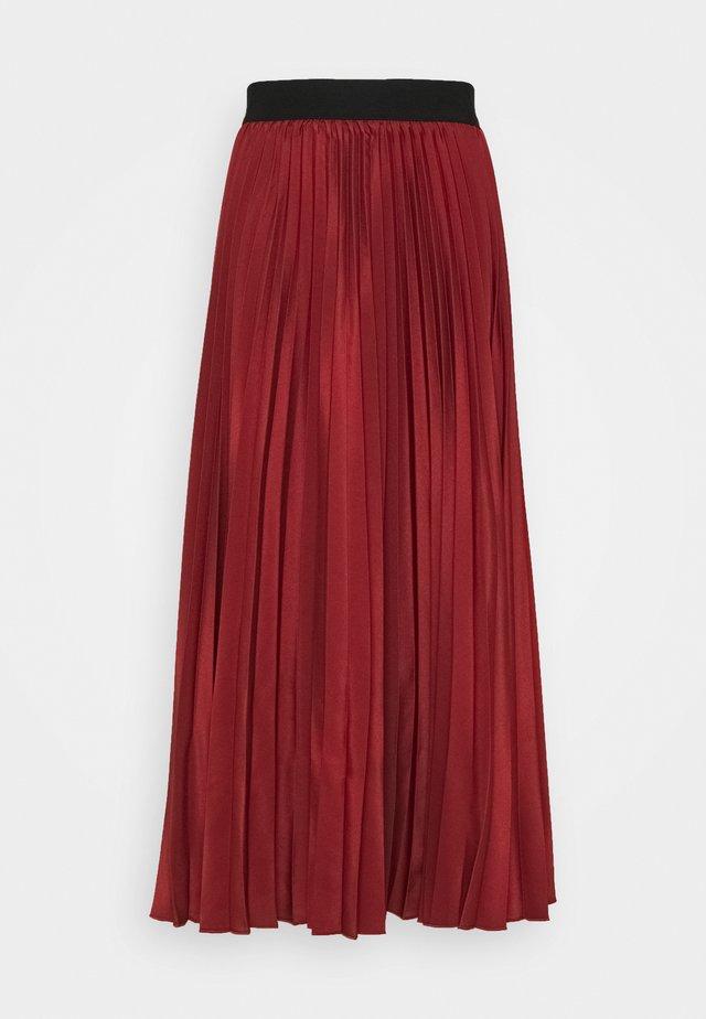 ANDORRA - A-snit nederdel/ A-formede nederdele - ziegelrot/rot