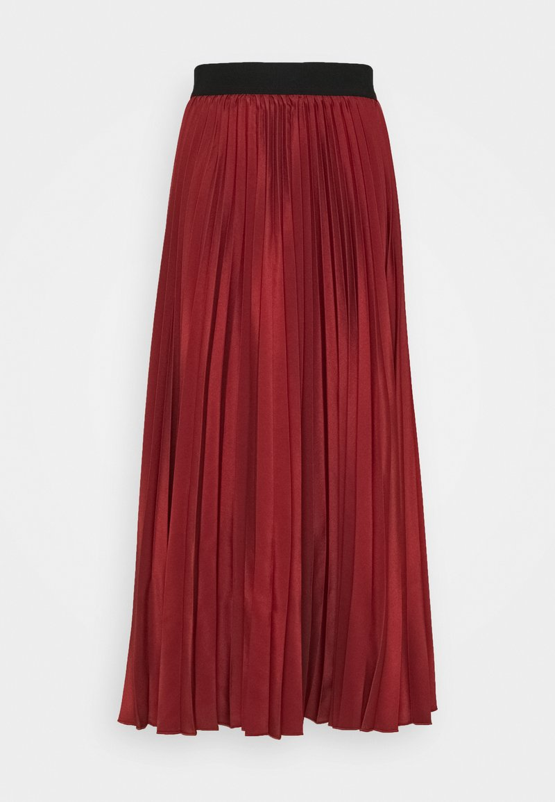 Sportmax Code - ANDORRA - Áčková sukně - ziegelrot/rot
