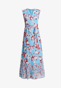 YAS - YASVAMILLA ANKLE DRESS  - Maxi dress - bonnie blue/vamilla - 4