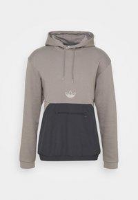 ARCH HOOD - Collegepaita - dove grey/solid grey