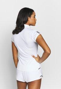 adidas Performance - CLUB - Sports shirt - white/silve/black - 2