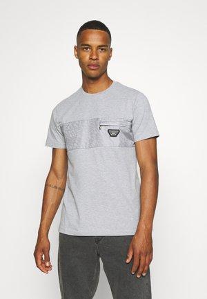 TECETTI TEE - T-shirt print - grey marl