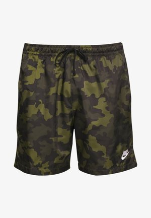 FLOW  - Shorts - legion green/black/treeline