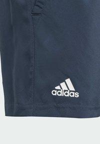 adidas Performance - CLUB 3 STRIPES PRIMEGREEN SHORTS - Sports shorts - blue - 3