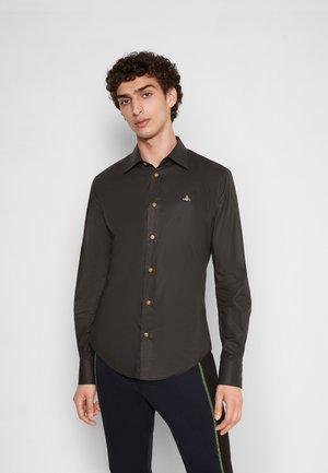 SLIM - Shirt - black