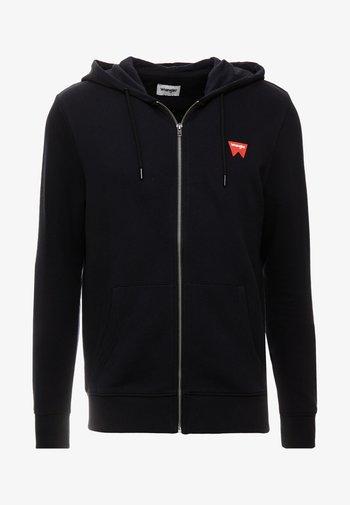 SIGN OFF ZIPTHRU - Zip-up hoodie - black