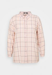 Missguided Plus - CHECK  - Button-down blouse - pink - 0