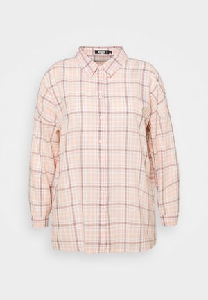 CHECK  - Button-down blouse - pink