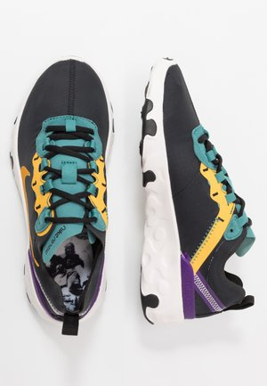 RENEW ELEMENT 55 - Sneakers basse - black/pollen rise/mineral teal/voltage purple