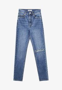 PULL&BEAR - Relaxed fit jeans - blue - 5