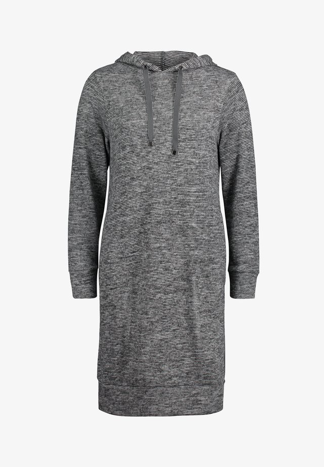 MIT KAPUZE - Day dress - dark grey